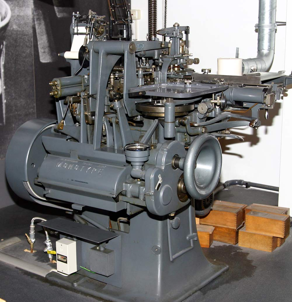 Monotype-machine