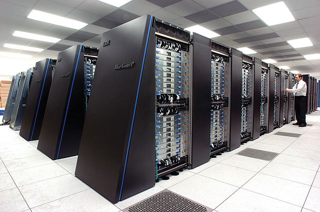 The Blue Gene/P supercomputer