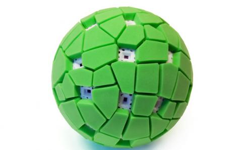 Throwable Panoramic Ball Camera Jonas Pfeil CM1 Throwable 360 Panoramic Camera!