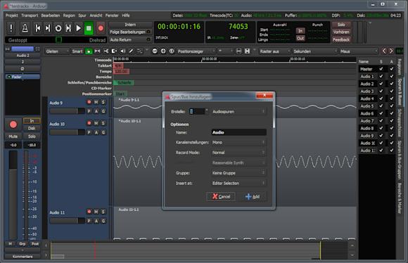 برنامج Ardour الاحترافي لتعديل الصوتيات