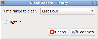 ClearRecentHistory